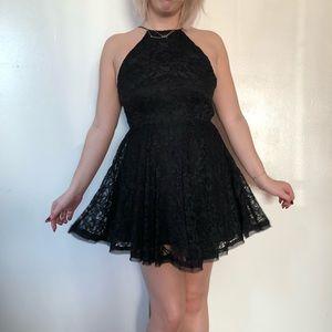 Kimchi Blue | Black Lace Dress | Size Small